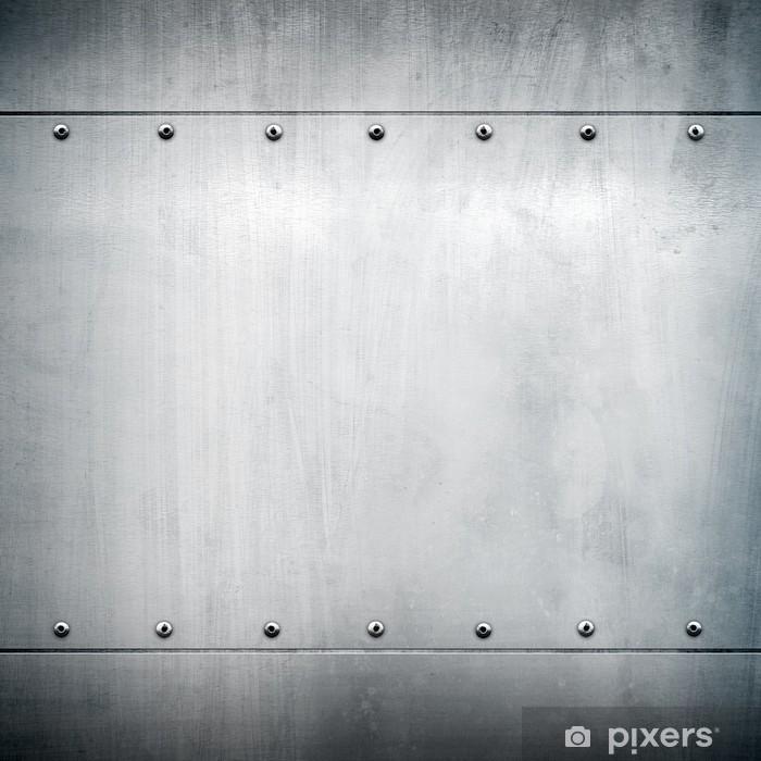 metal plate Pixerstick Sticker - Styles