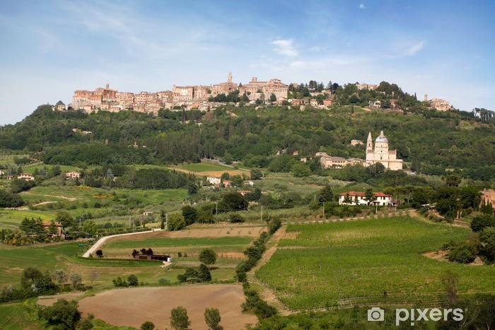 Sticker Pixerstick Village Montepulciano - Europe