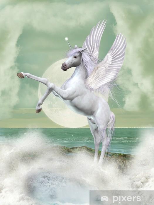 Unicorn Vindue og glas klistermærke -