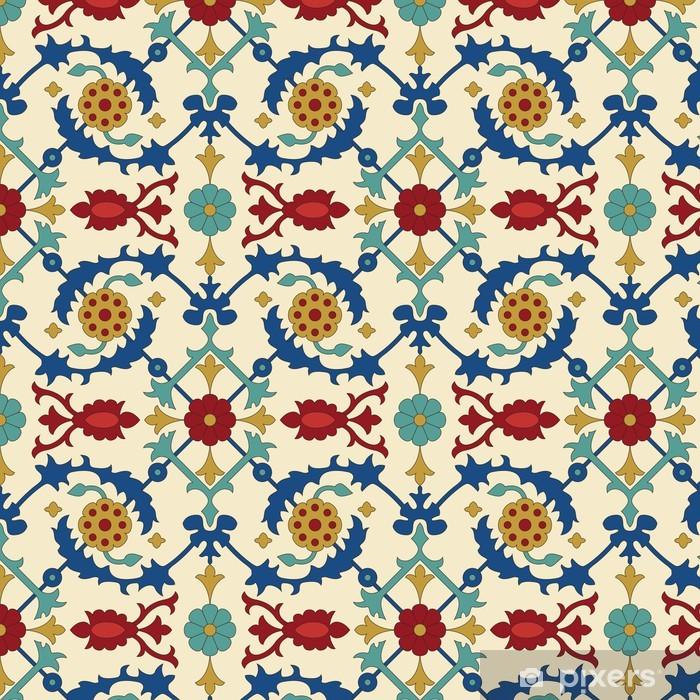 Naklejka Pixerstick Arabski wzorek powtarzalne - Style