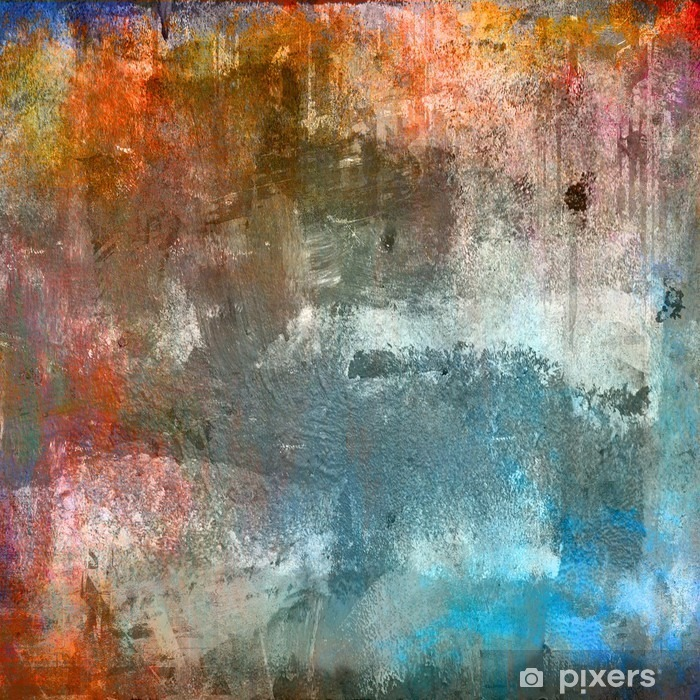 Grunge colorful background Poster - Themes