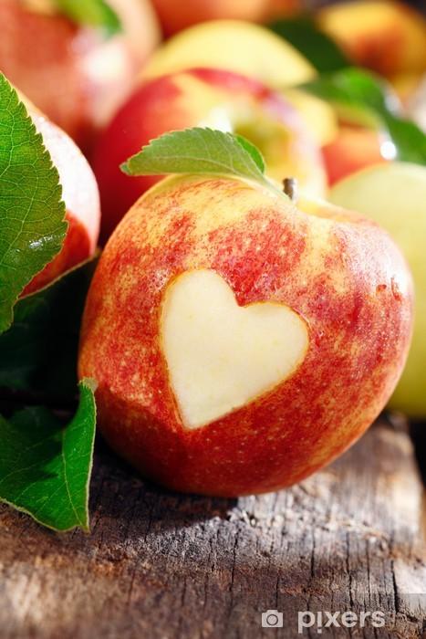 Love of apples concept Pixerstick Sticker - Fruit
