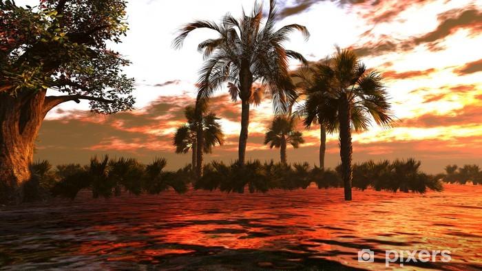 Fototapeta winylowa Rzeka tropikalnych - Natura i dzicz
