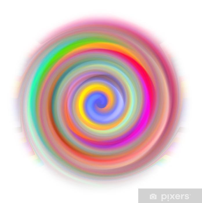 Papier peint vinyle Illustration de résumé Mandala - Abstrait