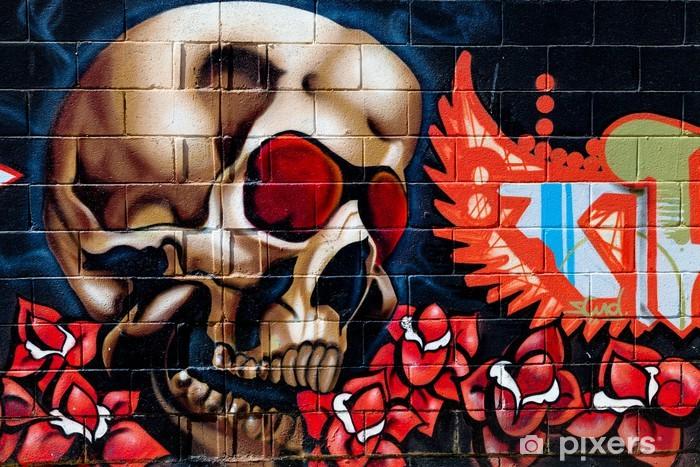 Graffiti Washable Wall Mural - Themes