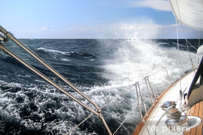 Fotomural Estándar Navegando en la tormenta - iStaging
