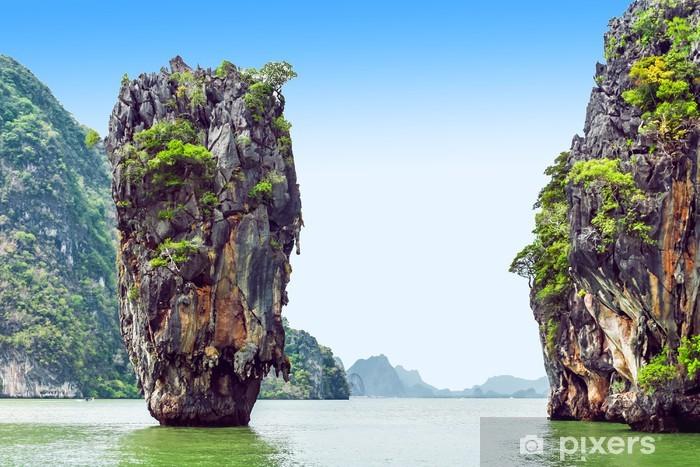 Papier peint vinyle James bond island - Asie