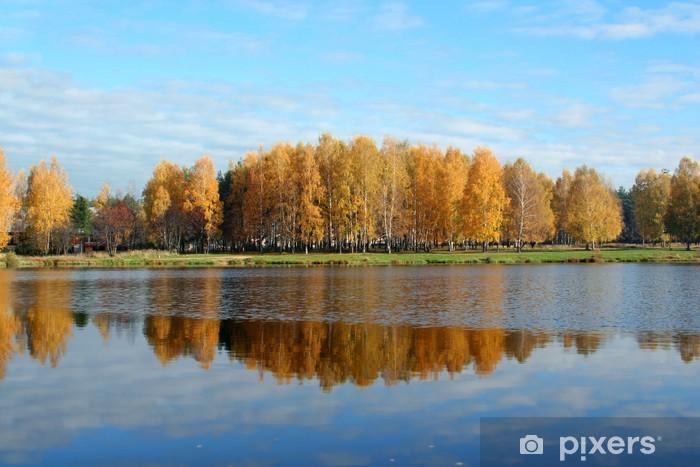 Adesivo Pixerstick Bellezza d'autunno - Stagioni