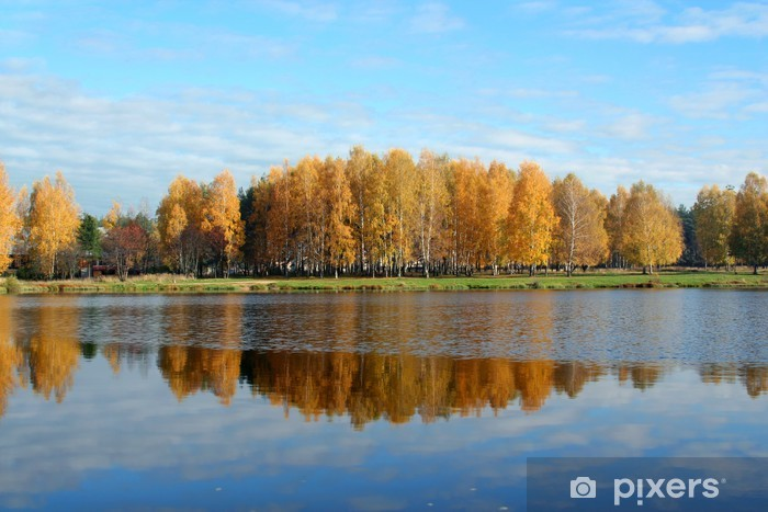 Autumnal beauty Pixerstick Sticker - Seasons
