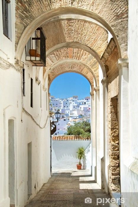 White village in andalucia Vinyl Wall Mural - Themes