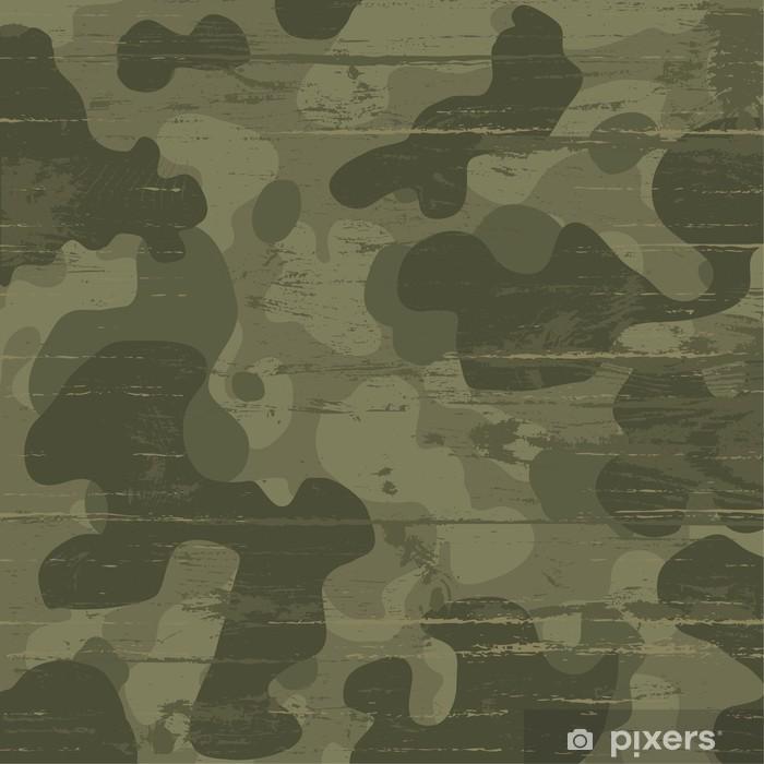 Sticker Pixerstick Fond de camouflage militaire. Vector illustration, EPS10 - Thèmes