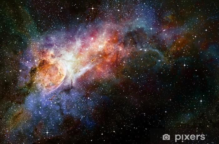 Naklejka Pixerstick Gwiaździsty głęboki kosmos nebual i galaxy - Style