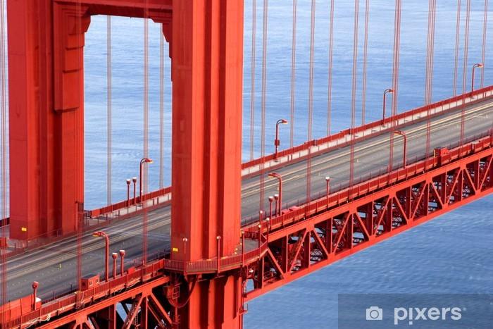 Fototapeta winylowa Golden Gate - Miasta amerykańskie