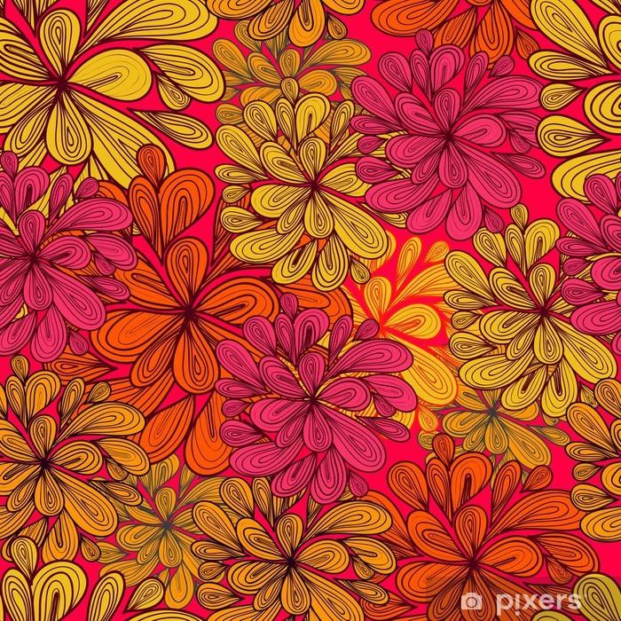 Poster Seamless abstract vector pattern - Hintergründe