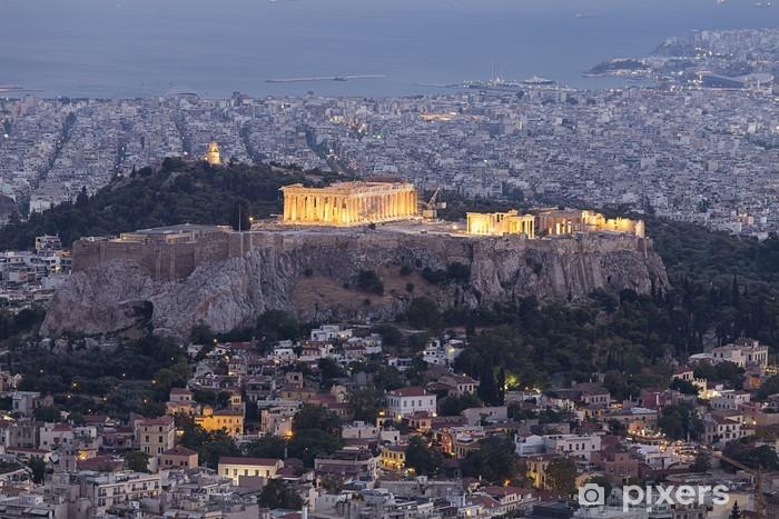 Fotomural Estándar Acrópolis y el Partenón, Atenas, Grecia - Temas