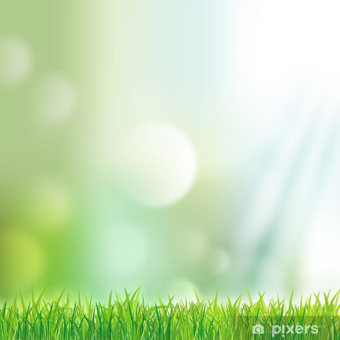 Plakat Meadow z nieba - Rośliny