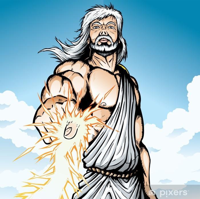 Plakát Rozzlobený Zeus - Muži