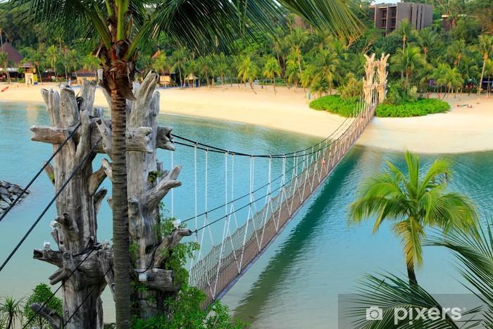 Naklejka Pixerstick Krajobraz w Sentosa, Singapur - Krajobraz wiejski