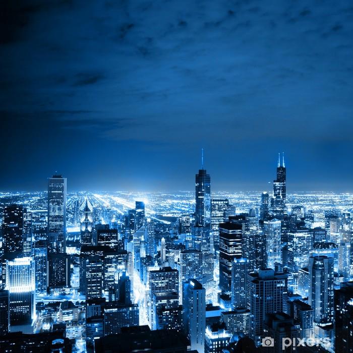 Naklejka Pixerstick Aerial view of Chicago - Tematy