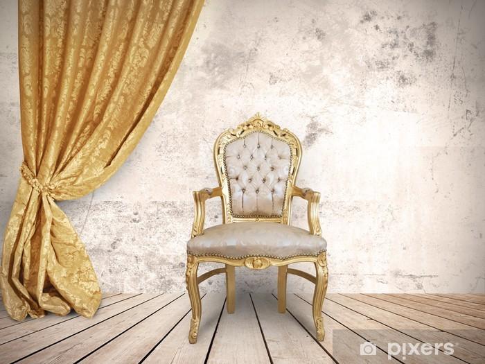 Naklejka Pixerstick Krzesło udany - Koncepcje biznesowe