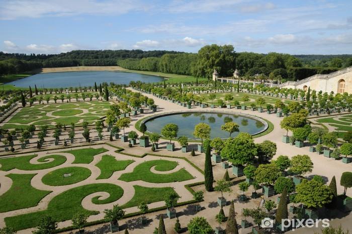Paleis Van Versailles Tuin.Fotobehang Frankrijk De Tuin Van Het Paleis Van Versailles