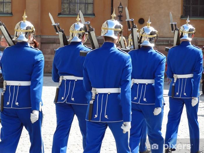 Papier peint vinyle Garde royale - Europe