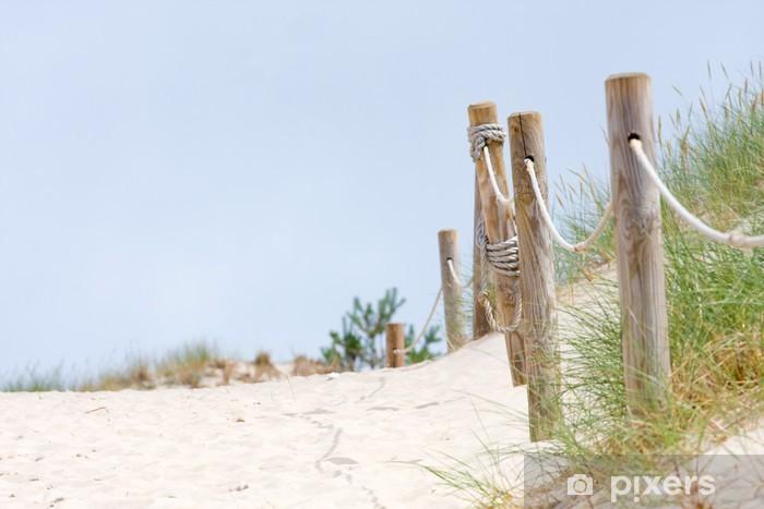 Fototapeta winylowa PATHWAY na Dune Czolpinska, Baltic - Europa