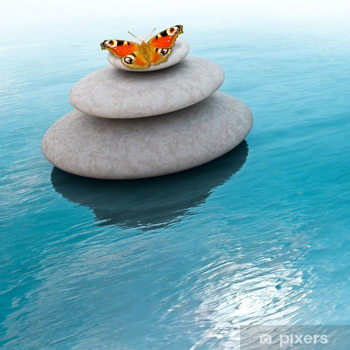 Plakat Zen kamienie - Tematy