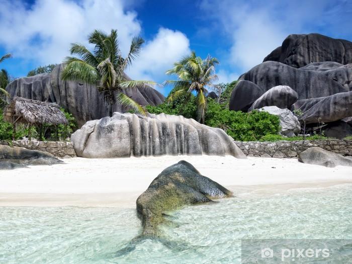Nálepka Pixerstick Seychely ostrov - Voda