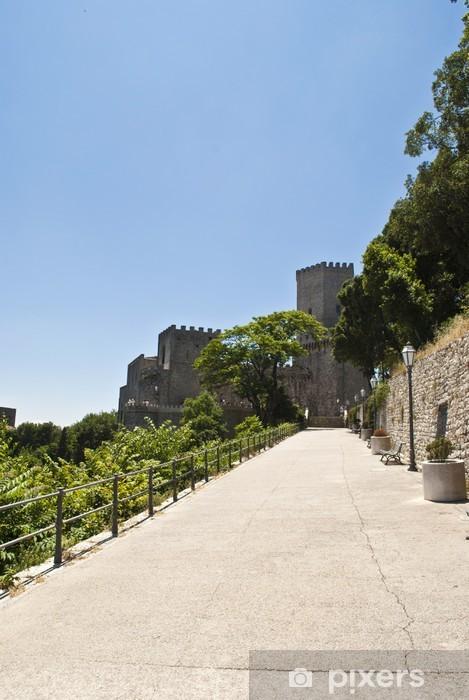 Fototapeta winylowa Zamek - Europa