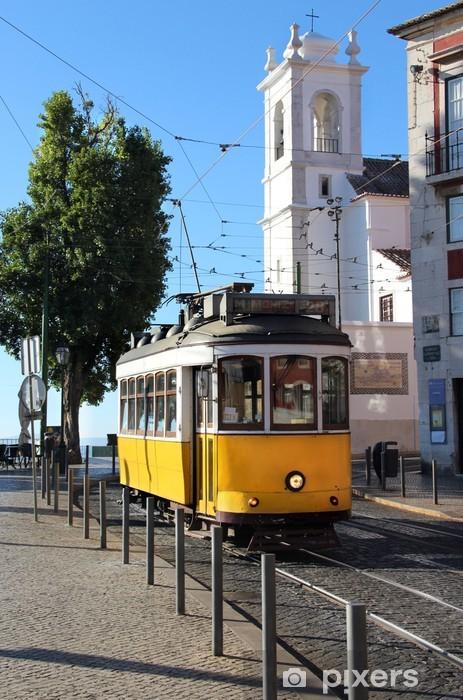 Lisbon tram Pixerstick Sticker - Themes