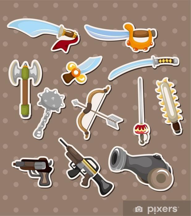 Naklejka Pixerstick Naklejki broń - Znaki i symbole