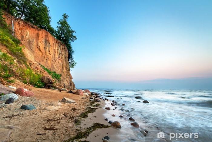 Pixerstick Aufkleber Cliff of Orlowo an der Ostsee, Polen - Themen