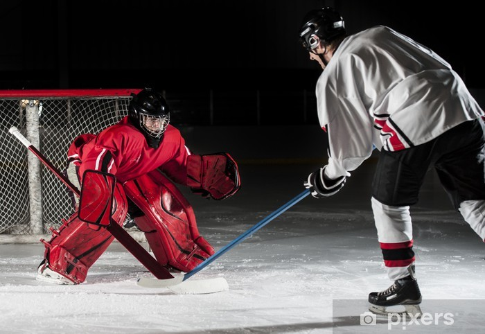 Ice hockey players Pixerstick Sticker - Team Sports