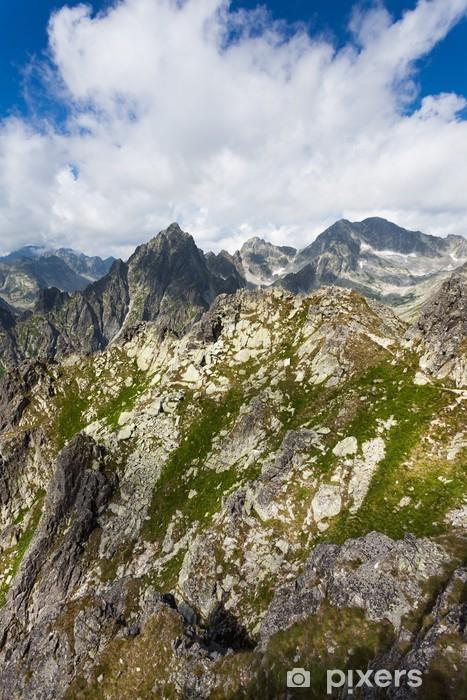 Sticker Pixerstick Hautes Tatras - Thèmes