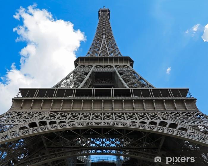 Sticker Pixerstick Eiffel tower - Villes européennes