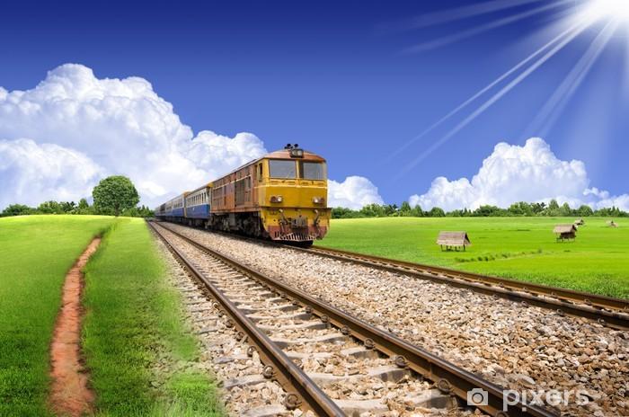 Thai rautatie. Vinyyli valokuvatapetti - Themes