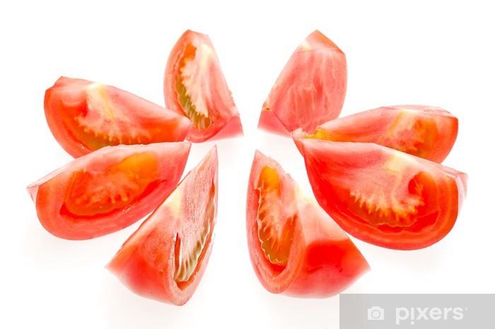 Sticker Pixerstick Tomate - Saisons