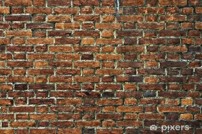 Naklejka Pixerstick Ceglana ściana - Tematy