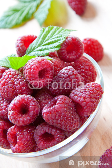 Naklejka Pixerstick Maliny - Owoce