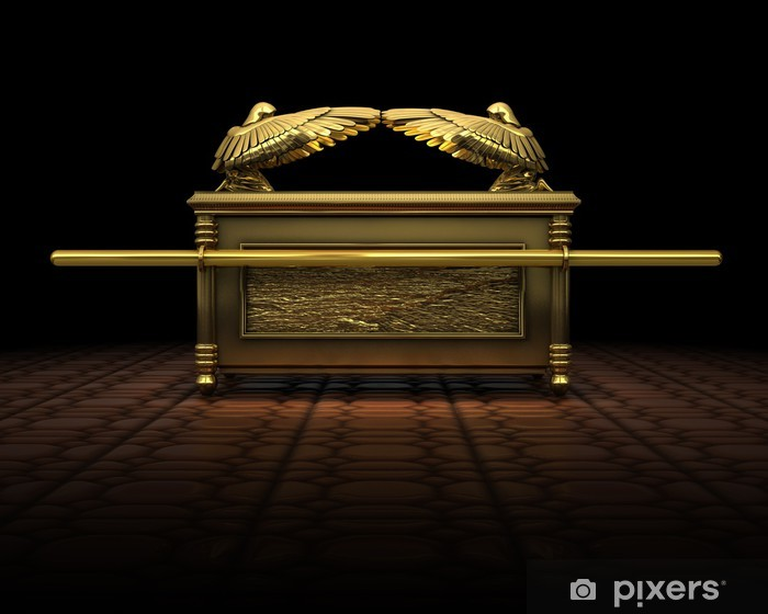 Ark of the Covenant Vinyl Wall Mural - Religion