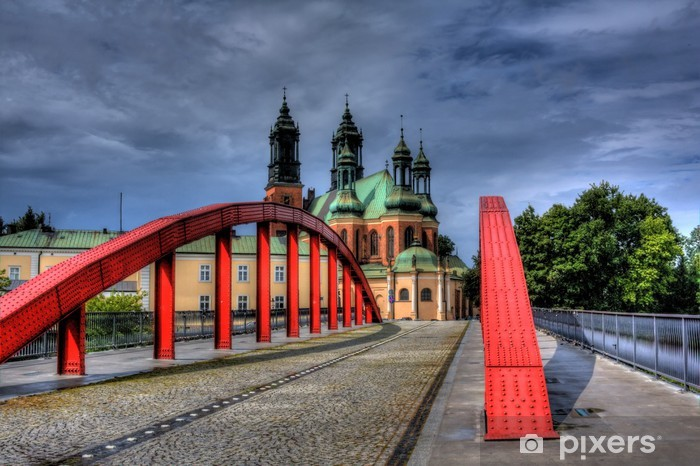 Cathedral In Poznan Poland Wall Mural Pixers We Live To Change