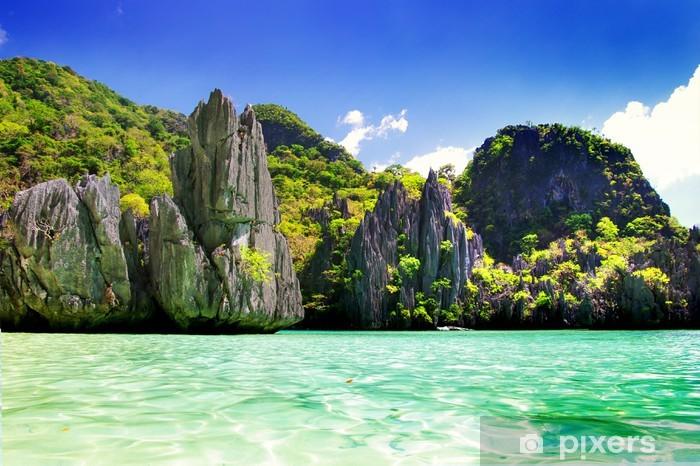 beautiful nature of Philippines - El nido Pixerstick Sticker - Holidays