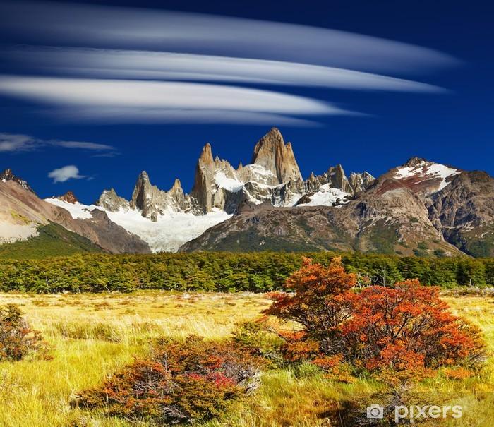 Fototapeta winylowa Góra Fitz Roy, Argentyna - Tematy