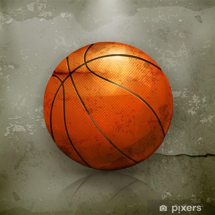 Plakát Basketbal, old-style vektor - Basketbal