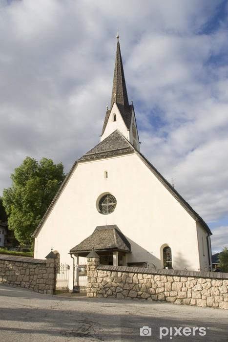 Nálepka Pixerstick Kostel v Alta Badia - Evropa