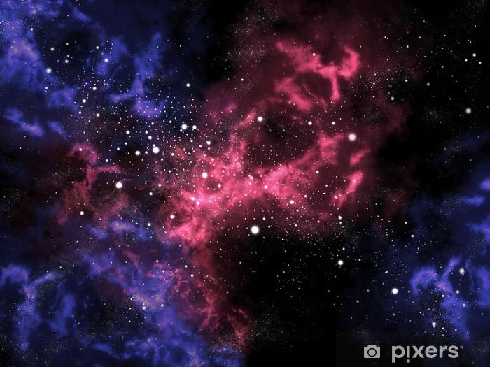 Fototapete Orion im Universum mit Sterne Hintergrund