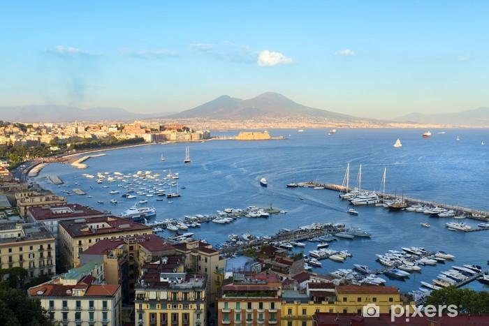 Fotomural Estándar Vista de la bahía de Nápoles - Europa