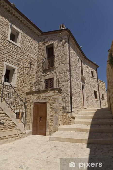 Carta da Parati in Vinile Ripabottoni, Molise-borgo antico - Europa