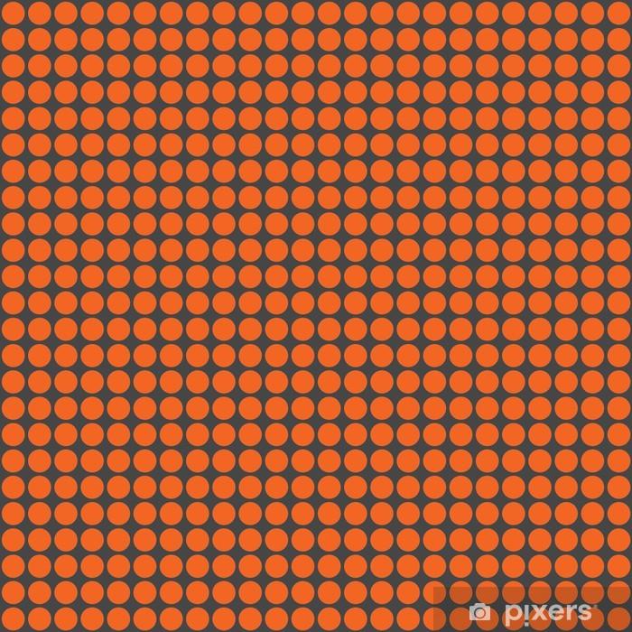 Plakát Orange & Dark Grey Circles Pattern - Mezinárodní svátky